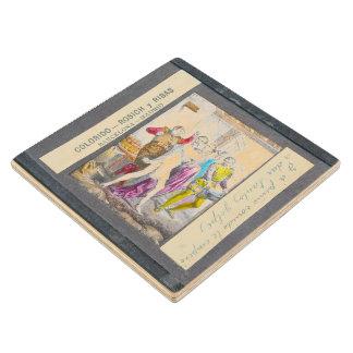 D. Quixote-I Magic lantern view Chapter XXXV Wood Coaster