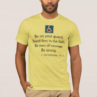 D/R - 1 Corinthians 16:13 Quote T-Shirt