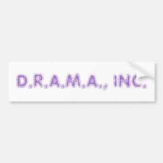 D.R.A.M.A., INC. PEGATINA PARA AUTO
