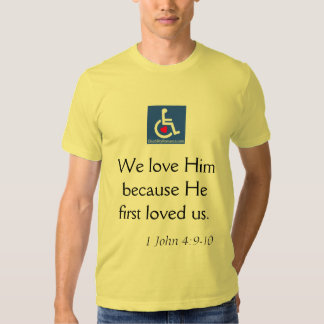 D/R - Book of 1 John 4:9-10 Quote T-Shirt