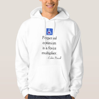 D / R - Colin Powell Quote Hoodie