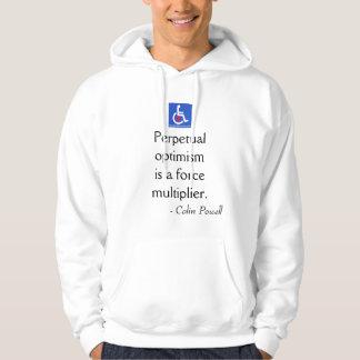 D / R - Colin Powell Quote Sweatshirt