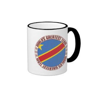 D R Congo Greatest Team Ringer Coffee Mug