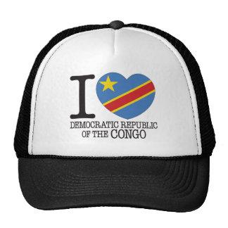 D R Congo Love v2 Trucker Hat
