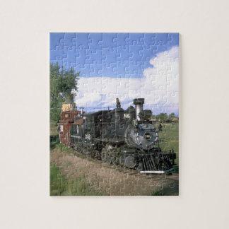 D&RG narrow gauge 2-8-0 #346, 1880's Jigsaw Puzzle