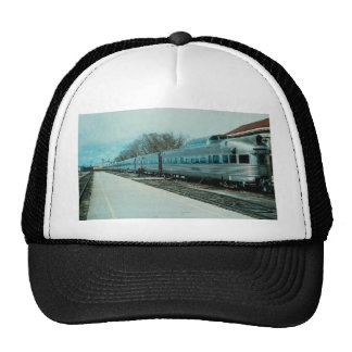 """D&RGW """"California Zephyr"""" with observation """"Silver Hats"""