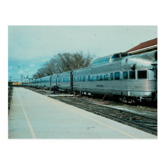 "D&RGW ""California Zephyr"" with observation ""Silver Postcard"