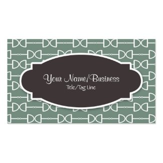 D-Ring Horse Bit Business or Personal Calling Card Double-Sided Standard Business Cards (Pack Of 100)