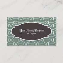 D-Ring Snaffle Horse Bit in Olive Business Calling Card