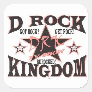 D Rock Kingdom Logo sticker