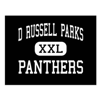 D Russell Parks - Panthers - Junior - Fullerton Postcard