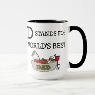 D Stands for Worlds Best Dad Mug