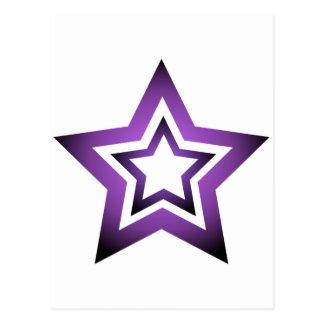 D-Star Purple Postcard