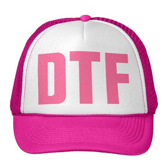 D T F Trucker Hat