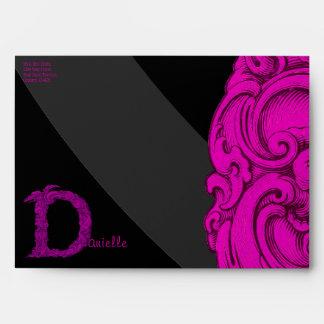 D - The Falck Alphabet (Pink) Envelope