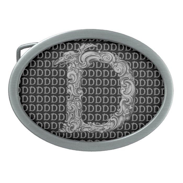 D - The Falck Alphabet (Silvery) Belt Buckle