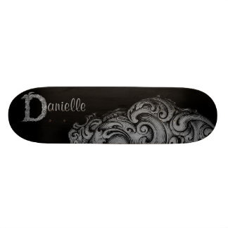 D - The Falck Alphabet (Silvery) Skateboard