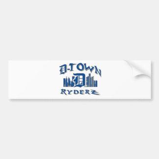 D-town RyderZ Gear Bumper Sticker