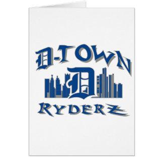 D-town RyderZ Gear Card