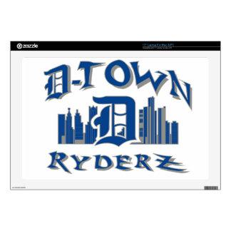 "D-town RyderZ Gear Skins For 17"" Laptops"