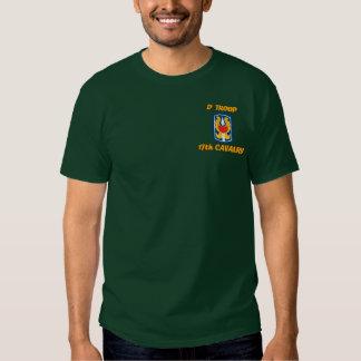 D Troop 17th Cavalry VSR M113 ACAV Shirt