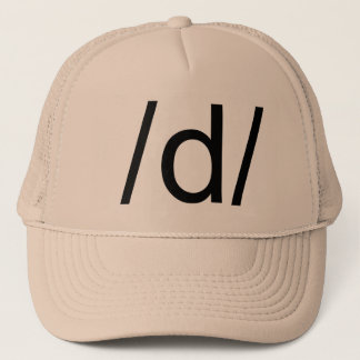 d trucker hat