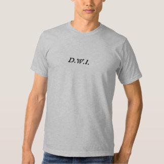 D.W.I - St. Maarten 2009 - Customized T Shirt