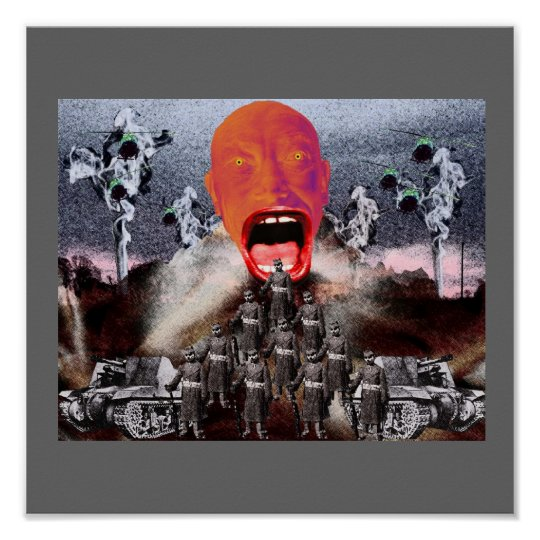 D.W. Scream and the War Machine Poster
