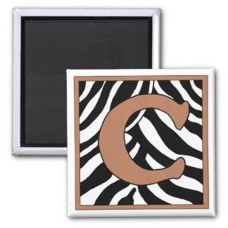 D-Zebra Square Magnet
