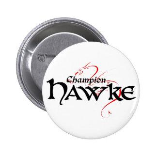 DA2 - Campeón HAWKE - botón (luz) Pin Redondo De 2 Pulgadas