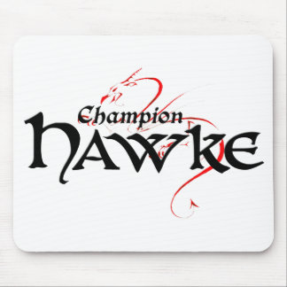 DA2 - Champ HAWKE - mousepad (light)