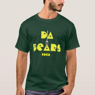 DA BEARS suck with fork sticking T-Shirt