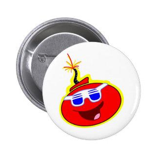 Da Bomb 2 Inch Round Button