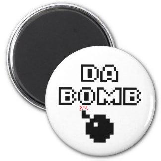 Da Bomb 2 Inch Round Magnet