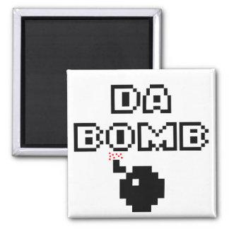 Da Bomb 2 Inch Square Magnet