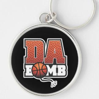 DA BOMB Basketball Keychain
