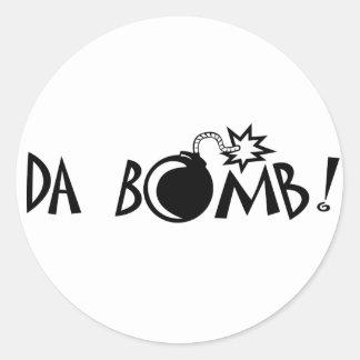 Da Bomb! Classic Round Sticker