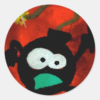 da bomb classic round sticker
