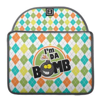 Da Bomb!  Colorful Argyle Pattern Sleeve For MacBook Pro