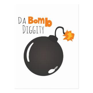 Da Bomb Diggity Postcard