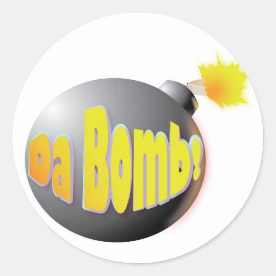 Da Bomb! sticker