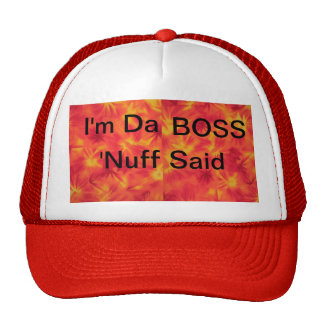 DA Boss Gorras