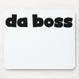 Da Boss Mouse Pad