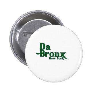 DA bronx 1 Pin Redondo De 2 Pulgadas