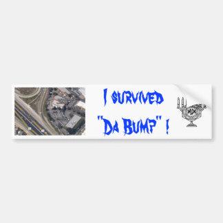 DA BUMP bumper sticker