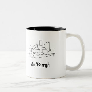 da 'Burgh Two-Tone Coffee Mug