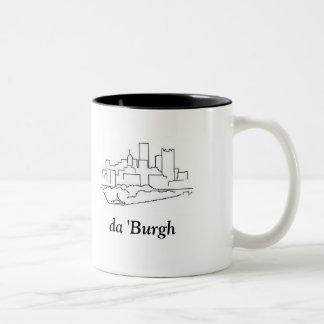 da 'Burgh Two-Tone Coffee Mug