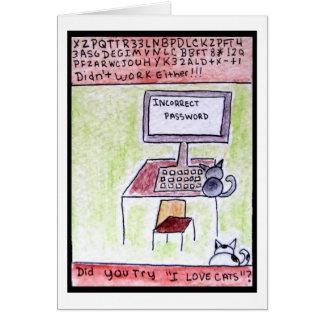 DA CatToon #4 - tarjeta de los piratas informático