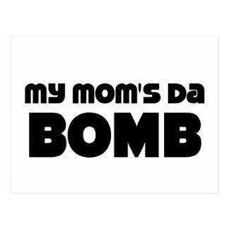 DA de mi mamá bombardea Postal