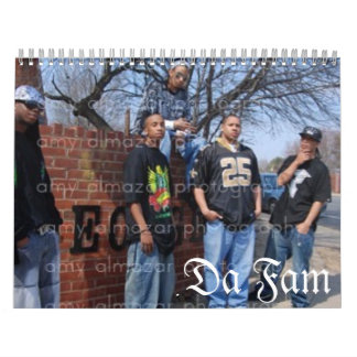 Da Fam calendar